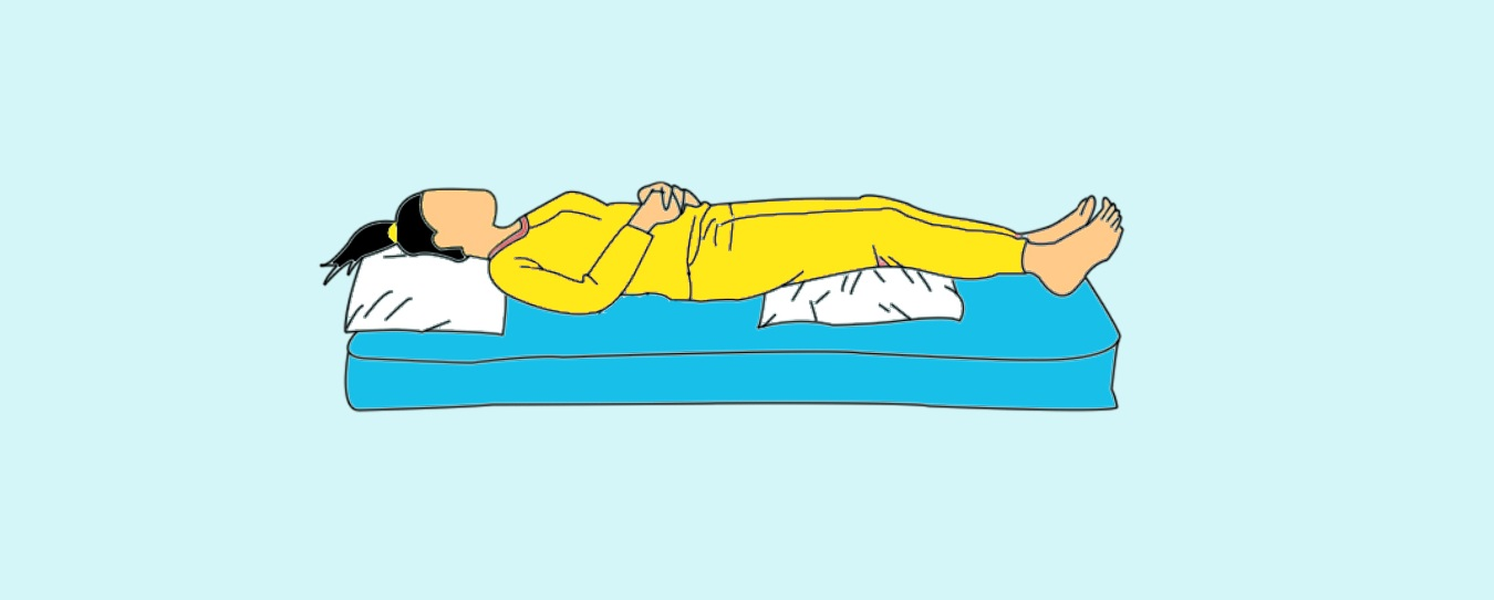 Sleeping Position for PMS Pain