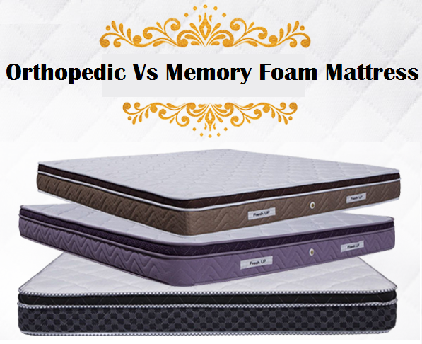 orthopedic vs memory foam mattress