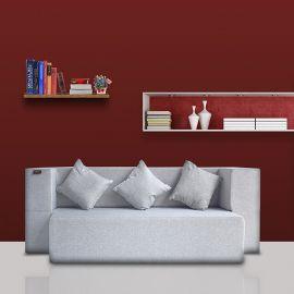 Buy freshup Comfortzila Sofa Cum Bed-Jute Fabric online