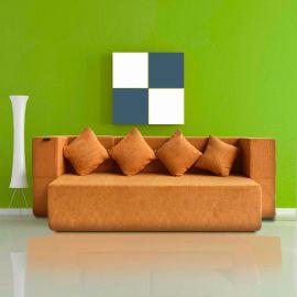 Yellow Siesta Sofa Cum Bed